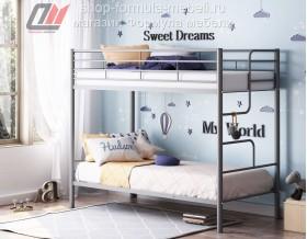 двухъярусная кровать Севилья 4 цвет серый