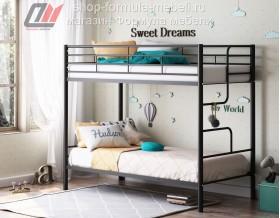 двухъярусная кровать Севилья 4 цвет чёрный