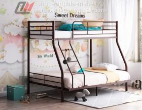 кровать Гранада-2 140 коричневая