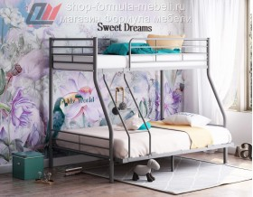 кровать Гранада-2 140 серая
