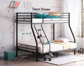 кровать Гранада-2 140 чёрная