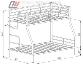 кровать Гранада-3 размеры