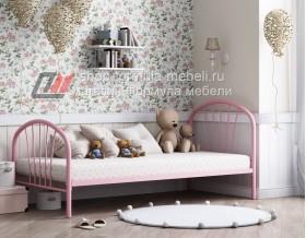 кровать Эвора розовая