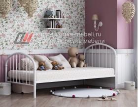 металлическая кровать Эвора-1 белая