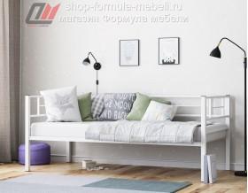 металлическая кровать Лорка белая