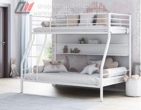 двухъярусная кровать Гранада-2 П цвет белый / белый
