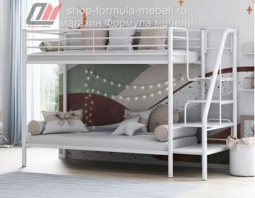 двухъярусная кровать Толедо белая
