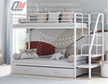двухъярусная кровать Толедо Я белая
