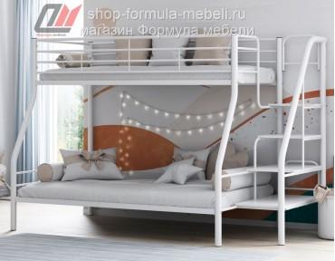 двухъярусная кровать Толедо-1 белая