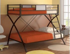 двухъярусная кровать Виньола цвет коричневый / дуб молочный