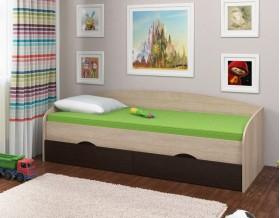кровать Соня-2 дуб Сонома / венге
