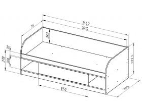 кровать Соня 4 размеры