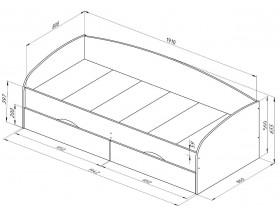кровать Соня 2 размеры