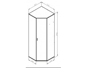 Дельта-1 шкаф размеры