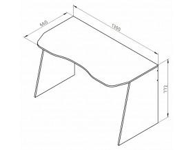 размеры Дельта-15 стол компьютерный