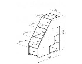 раз меры Дельта-23 лестница 2