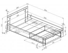 размеры Дельта-19.2 Сильвер кровать