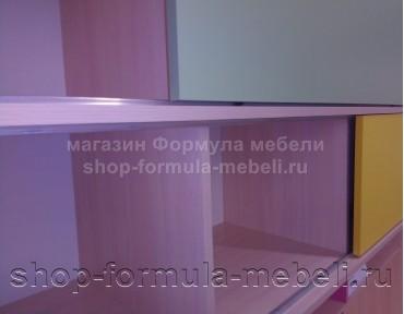 кровать с антресолью Дельта 21.12 детали, Формула мебели