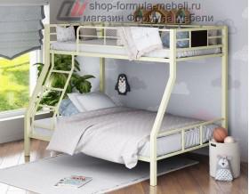 двухъярусная кровать Гранада-1 цвет слоновая кость (бежевый)