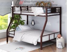 двухъярусная кровать Гранада-1 цвет коричневый, Формула мебели