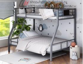 двухъярусная кровать Гранада-1 цвет серый