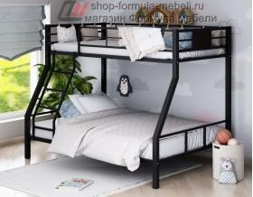двухъярусная кровать Гранада-1 цвет чёрный