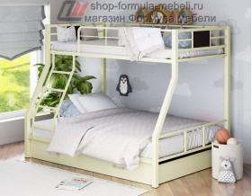 двухъярусная кровать Гранада-1 Я цвет слоновая кость - крем