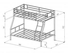 кровать Гранада-1 размеры