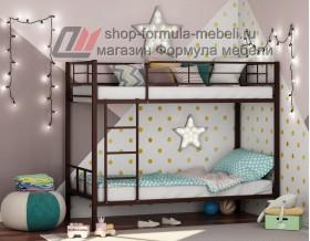 двухъярусная кровать Севилья-2 цвет коричневый, Формула мебели