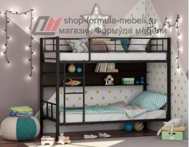 двухъярусная кровать Севилья-2 П цвет чёрный / венге