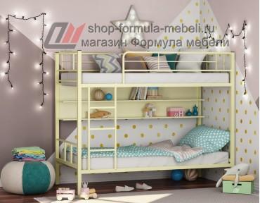 двухъярусная кровать Севилья-2 П цвет слоновая кость / крем