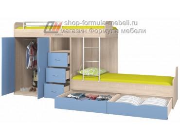 двухъярусная кровать Дельта 18.04.02 наполнение
