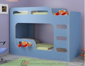 кровать Дельта Макс 20.03 цвет голубой