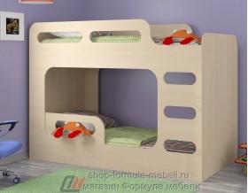 кровать Дельта Макс 20.03 цвет дуб молочный