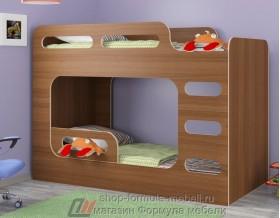 кровать Дельта Макс 20.03 цвет орех Формула мебели