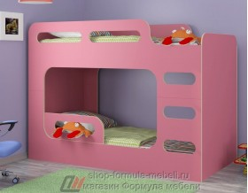 кровать Дельта Макс 20.03 цвет розовый