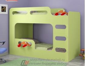 кровать Дельта Макс 20.03 цвет салатовый