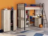 кровать-чердак Дельта Лофт со шкафами
