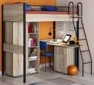 кровать-чердак Дельта Лофт со шкафом