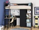 кровать-чердак Дельта Лофт в комплекте со шкафами